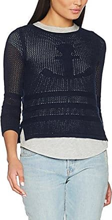 086CC1I024, Pull Femme, Bleu (Light Blue), 42 (Taille Fabricant: X-Large)EDC by Esprit