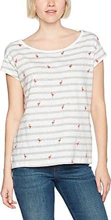 Womens 026cc1k021 - Striped Short Sleeve T-Shirt EDC by Esprit