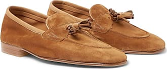 Loafers for Men On Sale, Coffee, Suede leather, 2017, UK 10 - 10.5 Edward Green