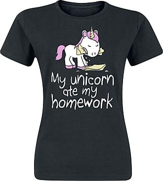 Ich? Irre? Girl-Shirt türkis Einhorn