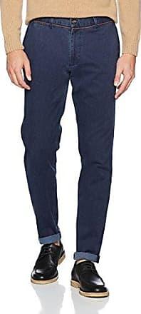 Canvas Lavado, Pantalones para Hombre, Azul (Marino), 46 (Tamaño del fabricante:46) El Ganso
