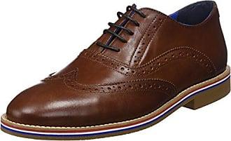 El Ganso Zapato Oxford Piel, Richelieus Homme, Marron (Marrón Único), 44 EU