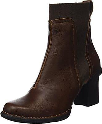 El Naturalista N5142 CAPRETTO PLUME / NECTAR Grigio - Chaussures Bottine Femme