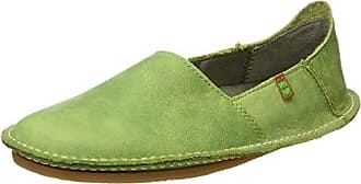 El Naturalista NF11 PLEASANT GREEN / FORMENTERA Verde - Chaussures Slips on Femme