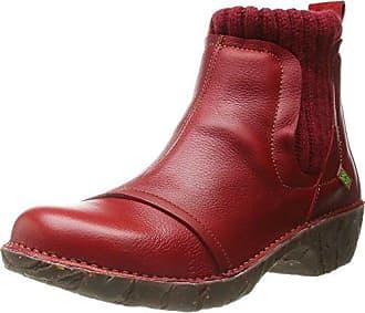 El Naturalista Yggdrasill N158 Rioja, Schuhe, Stiefel & Boots, Chelsea Boots, Lila, Braun, Female, 36