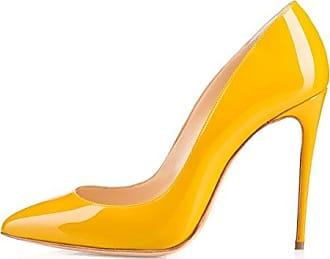 Grosse Schuhe, High Heels, Schuhe, Damen, Schuhe, Gelb, 31.