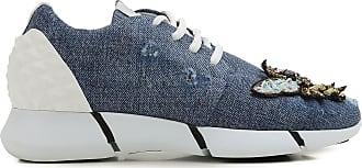 Sneakers for Women On Sale, Denim, Denim, 2017, 2.5 6.5 Elena Iachi