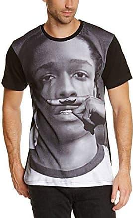 Morkibis - T-shirt - Manches courtes - Homme - Noir (Black) - Large (Taille fabricant: L)Eleven Paris