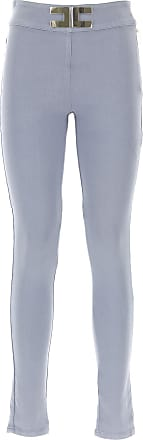 Pants for Women On Sale, Smoky Blue, Cotton, 2017, 26 29 Elisabetta Franchi