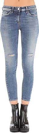 Jeans On Sale, Denim Blue, Cotton, 2017, 26 27 28 29 30 31 32 Elisabetta Franchi