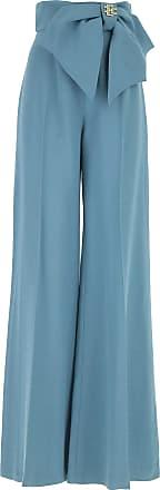 Pants for Women On Sale, Sugar paper, Viscose, 2017, 10 Elisabetta Franchi