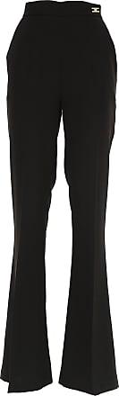 Pants for Women On Sale, Leopard, Viscose, 2017, 24 26 28 Elisabetta Franchi