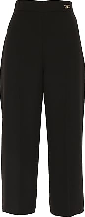 Pants for Women On Sale, Black, polyester, 2017, 12 26 28 30 8 Elisabetta Franchi