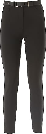 Pants for Women On Sale, Black, polyamide, 2017, 26 Elisabetta Franchi