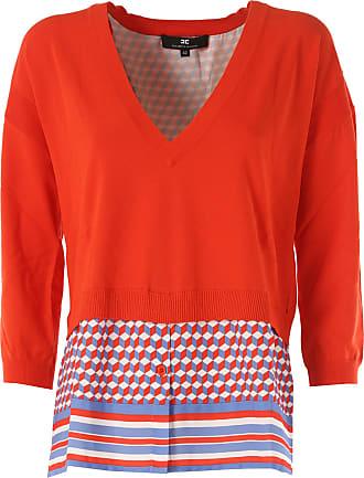 Sweater for Women Jumper On Sale, aquamarine, Wool, 2017, 12 Elisabetta Franchi