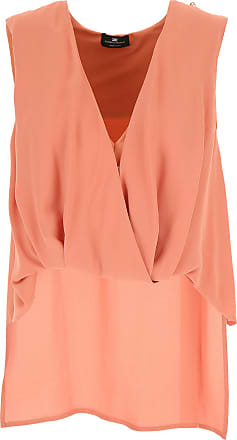 Top for Women On Sale, blush, viscosa, 2017, 10 12 8 Elisabetta Franchi