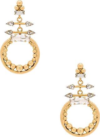 Elizabeth Cole Crescent Ring in Metallic Gold