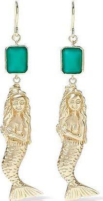 Elizabeth & James Elizabeth And James Woman Gold-tone Stone Earrings Gold Size