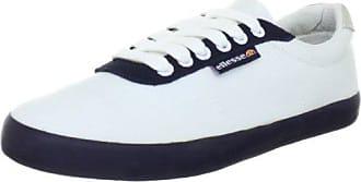 ellesse Portofino EHOUL063CS, Unisex - Erwachsene Fashion Sneakers, Weiss (white-blue-glory 15A), EU 36