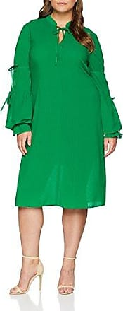 Elvi The Leiko Tea Dress with Antoinette Sleeves, Vestido de Fiesta para Mujer, Verde (Green 001), 54