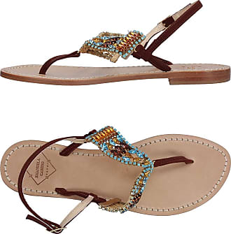 FOOTWEAR - Toe post sandals Emanuela Caruso Capri