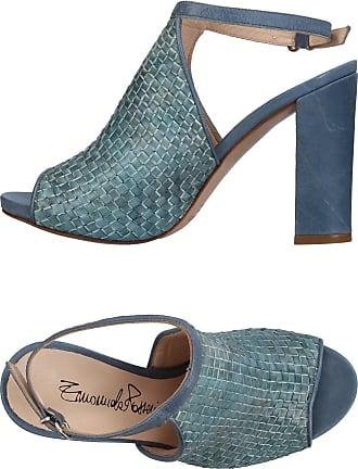 36is202-706610, Sandales Compensées Femme, Bleu (Hellblau 610), 40 EUDockers by Gerli