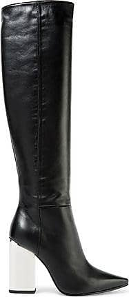 Emilio Pucci Woman Leather Over-the-knee Boots Size 38.5