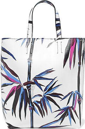 Emilio Pucci Woman Printed Textured-leather Cosmetics Case Multicolor Size Emilio Pucci