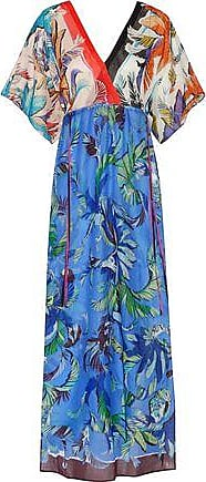 Emilio Pucci Woman Printed Cotton-terry Coverup Sky Blue Size 40 Emilio Pucci