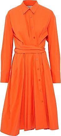 Emilio Pucci Woman Gathered Silk Crepe De Chine Blouse Red Size 40 Emilio Pucci