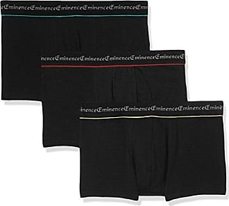 LOT de 3 Slips Taille Basse Trio Business, Culotte para Hombre, Multicolore (Marine/Rouge/Anthracite), Small Eminence