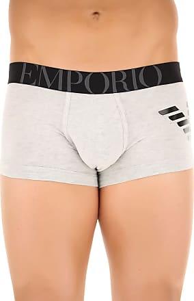 Boxer Briefs for Men, Boxers On Sale, Black, Cotton, 2017, M (EU 4) L (EU 5) Emporio Armani