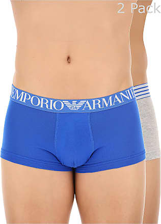 Boxer Briefs for Men, Boxers On Sale, Blue, Cotton, 2017, M (EU 4) S (EU 3) L (EU 5) Emporio Armani