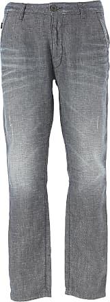 Jeans On Sale, Blue Denim, Cotton, 2017, 33 34 38 Emporio Armani