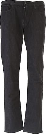 Pants for Men On Sale, Black, Cotton, 2017, 31 36 Emporio Armani
