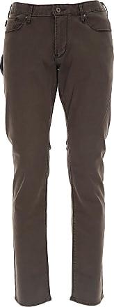 Pants for Men On Sale, Indigo, Cotton, 2017, 30 32 36 Emporio Armani