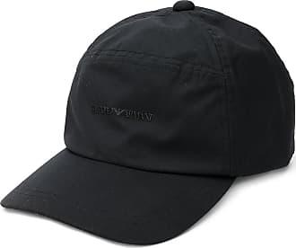 Reflective Logo Baseball Cap In Black - 00020 black Emporio Armani