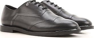 Lace Up Shoes for Men Oxfords, Derbies and Brogues On Sale, Blue, Leather, 2017, 6.5 Emporio Armani
