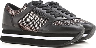 Sneakers for Women On Sale, Black, Canvas, 2017, US 6 - UK 4.5 - EU 37 Emporio Armani