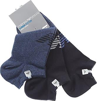 Socks for Men On Sale, Bipack, Melange Grey, Cotton, 2017, Universal Size Emporio Armani