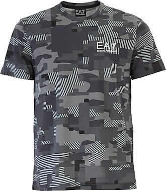 Camiseta de Hombre Baratos en Rebajas, Tomillo verde, Algodon, 2017, M S XL XXL Emporio Armani