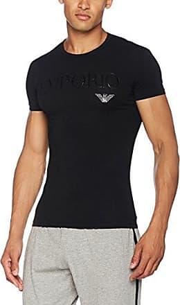 110810CC729, Haut de Pyjama Homme, Noir-Schwarz (Nero 00020), MediumEmporio Armani