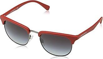 Emporio Armani 0EA4072 55928G, Montures de Lunettes Homme, Rouge (Matte Red/Greygradient), 52