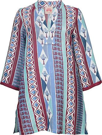 Milana Embroidered Tunic Emporio Sirenuse