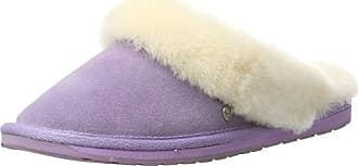 Slide, Chaussons Mules Femme, Violet (Smokey Purple), 36/37 EUDearfoams