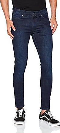 Mens EZ326 Skinny Jeans, Blue (Midwash), W36/L32 (Manufacturer Size:36 R) Enzo Jeans