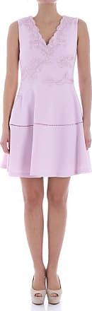Pink plumetis dress Ermanno Scervino