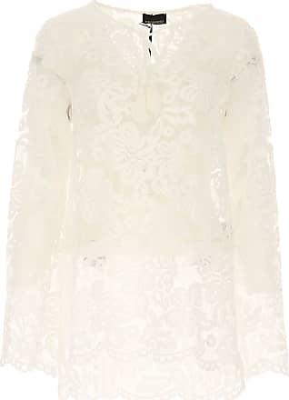 Shirt for Women On Sale, Denim Blue, lyocell, 2017, 10 8 Ermanno Scervino