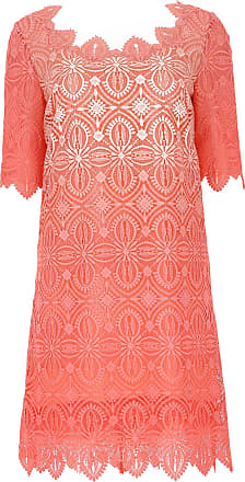 Dress for Women, Evening Cocktail Party On Sale, Coral, polyester, 2017, 10 12 14 Ermanno Scervino