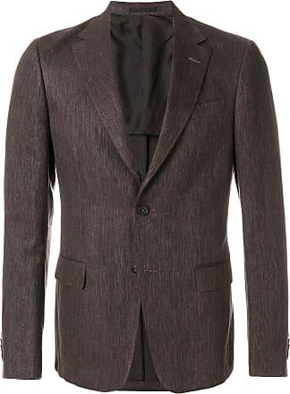 Ermenegildo Zegna classic blazer - Brown